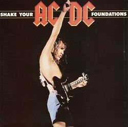 Ac/dc 7and039and039 Aust. Single 45 - Shake Your Foundations Pc Sample Promo - Near Mint