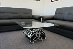 Man Cave Engine Block Coffee Table by BlockHead Designs