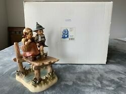 Goebel Century Collection Hummel On Our Way 472 Tmk 7 Signed