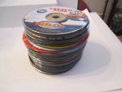Lot Of 72 Music Cd's And Dvd Movies And More - Assorted - Used - No Jewel Boxes