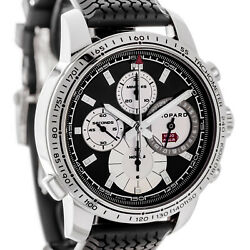Chopard Mille Miglia Automatic Chronograph Watch 168995-3002 Black Dial Rubber
