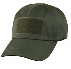 OD GREEN ROTHCO  TACTICAL OPERATORS CAP OPS  HAT ONE SIZE FITS ALL  ADJUSTABLE $9.59