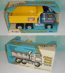 1/16 Vintage Ertl International Hydraulic Dump Truck W/box 1