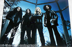 Alice In Chains Hand Signed Autographed 11x14 Photo By All 4 With Proof +c.o.a