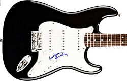 Keith Richards Rolling Stones Hand Signed Autograped Electric Guitar Proof+coa