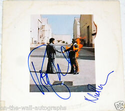 Pink Floyd Hand Signed Autographed Wish You Were Here Album Rare W/proof +coa