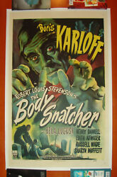 THE BODY SNATCHER (RKO 1945) Original Movie Poster 27