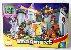 Very Rare 2002 Fisher Price Imaginext Battle Castle Knights New Sealed Misb