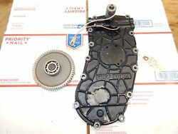 John Deere 425 Tuff Torq Transmission Rear Cover With Mid Pto Gear-used-clean