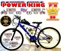 2-stroke Motorized Bike Kit With 26 Power Bicycle High Performance