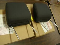 Nos Oem Ford 2005 2009 Mustang Cloth Seat Cover Head Rests 2006 2007 2008