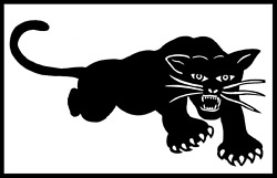 Sticker Decal Black Panther Party for Self-defense Panthers 60s 1960s Radical