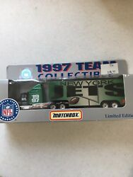 1997 New York Jets Team Tractor Trailer Officially Licensed Free Shipping