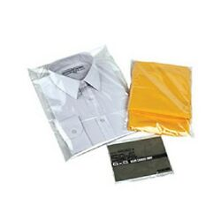 T-shirt Garment Bags Clothing Cover Clear Polythene Protection Mailing Bags 150g