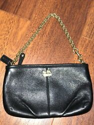 Coach Nolita Clutch women calf leather one size $65.00