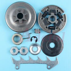 Clutch And Clutch Drum Sprocket Washer Kit For Stihl Ms230 023 Ms250 025 Ms210 021