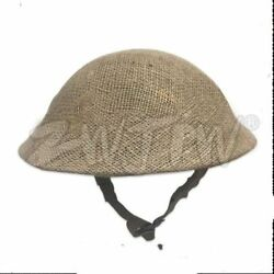 Wwii Ww2 Uk Army Mk2 British Tommy Army Helmet Andcamouflage Cover