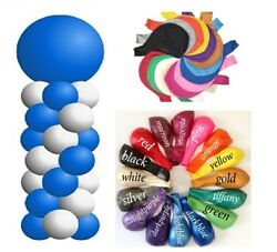 2 Set 4ft Balloon Stand W Latex Balloons Column Arch Base Pole Birthday Party Us