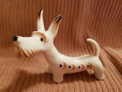 VTG Porcelain  Art Deco SCOTTISH TERRIER Dog Germany