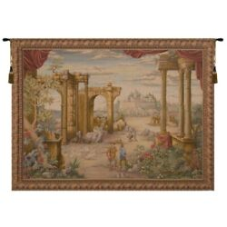 Vue Antique French Tapestry Wall Hanging H 60 X W 80
