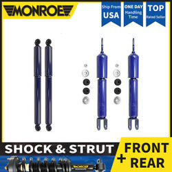 O MONROE 4X FRONT&REART Shocks and Struts For 1999-2006 GMC SIERRA 1500  4WD