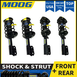 4PCS FRONT REAR SHOCKS&STRUTS Fit 2001-2011 CHEVROLET IMPALA Moog