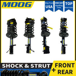 MOOG 4X FRONT + REAR Shock Strut Coil Spring Assembly Fits 1994 TOYOTA COROLLA 4