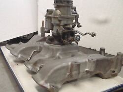 1954 Holley 94 Fordpassenger Vehicles2-bbl Intake Manifold For239ci
