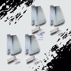 4 New Heavy Duty Steel Mounting Bracket Link For Linear Actuator Home Marine Car