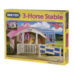 Horse Toy for Girl Kid Box Boy Barn Animal Pretend Play Stable Gift Set HOT NEW