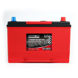 12v 95ah 1400cca Lithium Iron Phosphate Battery Lifepo4 For Automobile With Bms
