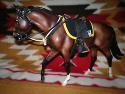 Breyer*JOHN A. HENRY*with NEW MC CLELLAN TACK ~ displayed ONLY NEVER a toy!!