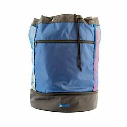 Mesh Beach Bag Pool Tote with Insulated Cooler and Large Waterproof Pocket