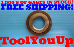 3/4 14 N.p.t.f. L1 Pipe Thread Ring Gage .75 Nptf L-1 Inspection Machinist Tools