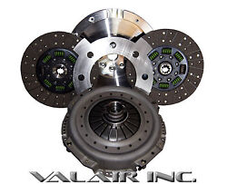 Quiet Valair Organic Towing Dual Disc 600hp Clutch Dodge Nv5600 6 Speed 01-05