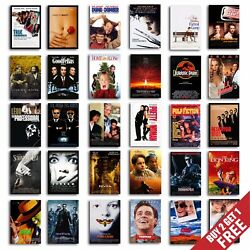 Classic 90s Movie Posters, A3 A4 Size Film Art Print For Home Decor Gift Idea
