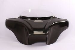 "BATWING FAIRING WINDSHIELD 4 Harley FLD Dyna Switchback 6X9"" SPEAKERS BAGGER LOW"