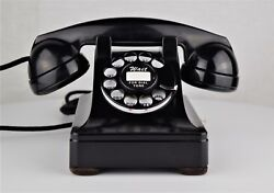 Vintage Fully Refurbished And Working Western Electric 302 Rotary Dial Telephone