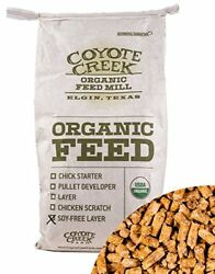 USDA Certified Organic Layer Pellet SOY FREE Chicken Feed