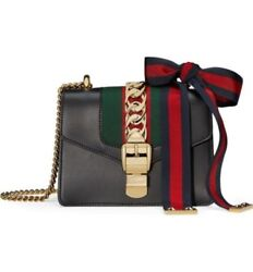 Gucci Mini Sylvie Leather Shoulder Bag ---Christmas Special to Someone Special