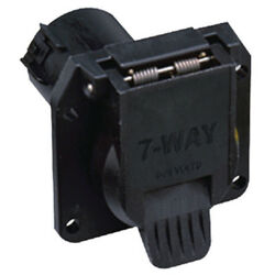 Heavy Duty Round 7 Way Tow Vehicle Side Socket Connector