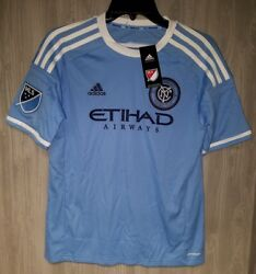 Adidas Nycfc New York City Fc Mls Youth L Lampard 8 Soccer Jersey 13-14 New