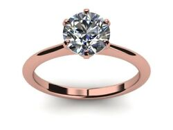 Certifed 1.70 Ct D Vs1 Round Diamond Wedding Engagement Solitaire Ring 18k Gold
