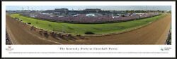 The Kentucky Derby At Churchill Downs Framed Panorama