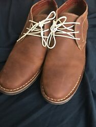 Alpine Swiss Mens Ankle Boots Dressy Casual Leather Lined Dress Shoes Lace Up Nw