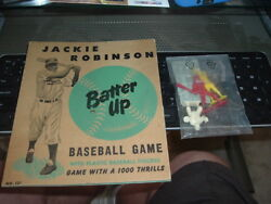 1951 Jackie Robinson Batter Up Baseball Game Arrow Toy And Novelty Complete