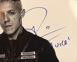 Theo Rossi Hand Signed 8x10 Photo Sons Of Anarchy Juice Rare Authentic + Proof