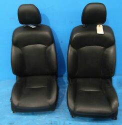 2010 Lexus Is250 Is350 front heated seats assembly STOCK factory black Sedan