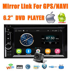 Double 2din Touch Screen Bluetooth Dvd Radio Player Mirror Link For Gps Navi 6.2