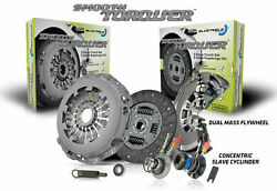 Blusteele Clutch Kit For Peugeot 308 Hdi 2.0l Dw10bted4 And Dual Mass Flywheel